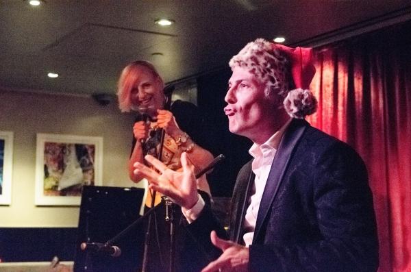 Lisa Lampanelli and Jon Wolfe Nelson