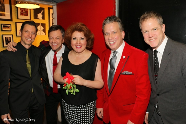 Daniel Glass, Jim Caruso, Klea Blackhurst, Billy Stritch and Steve Doyle