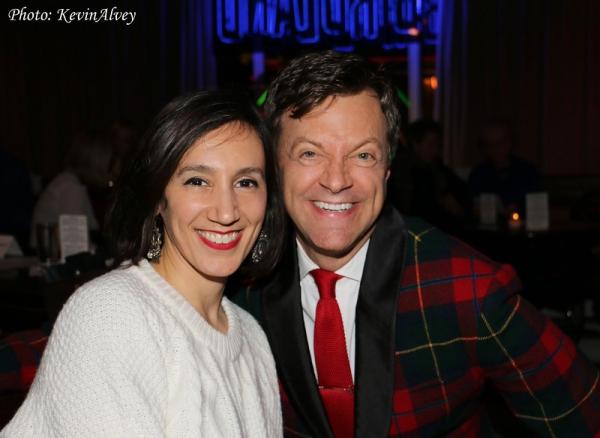 Gabrielle Stravelli and Jim Caruso