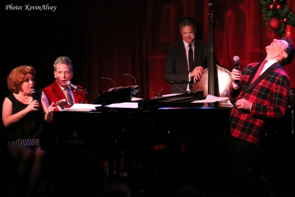 Klea Blackhurst, Billy Stritch, Daniel Glass and Jim Caruso