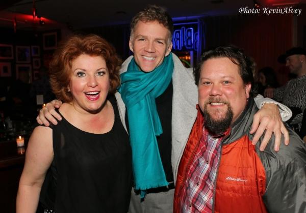 Klea Blackhurst, Ed Windels and Justin Squigs Robinson Photo