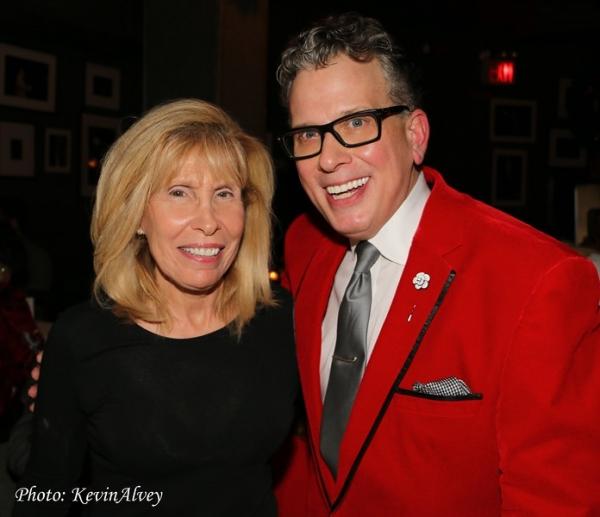 Shelley Goldberg and Billy Stritch