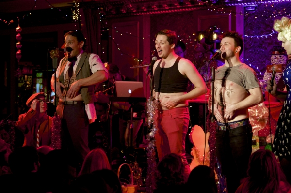 A belly button ballet led by Eric William Morris, Will Roland, & Gerard Canonico