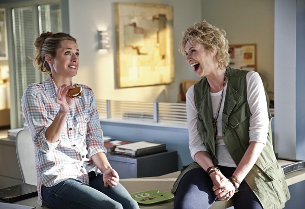 Maggie Lawson, Jane Lynch