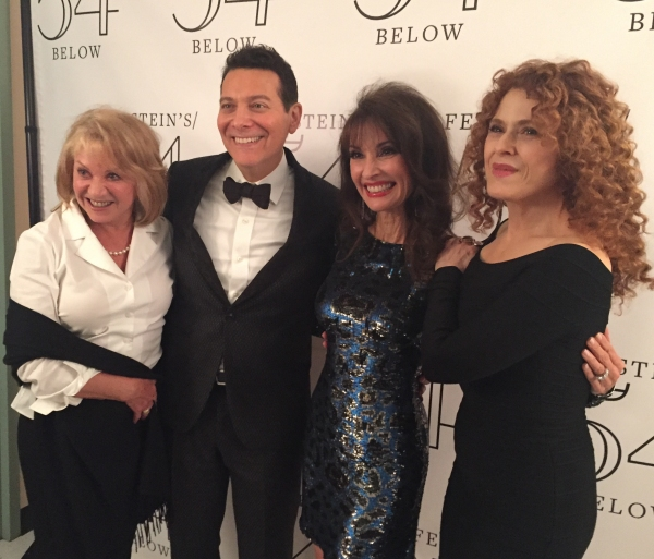 Elaine Paige, Michael Feinstein, Susan Lucci and Bernadette Peters