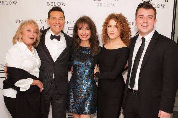 Elaine Paige, Michael Feinstein, Susan Lucci, Bernadette Peters, and Lucas DeBard