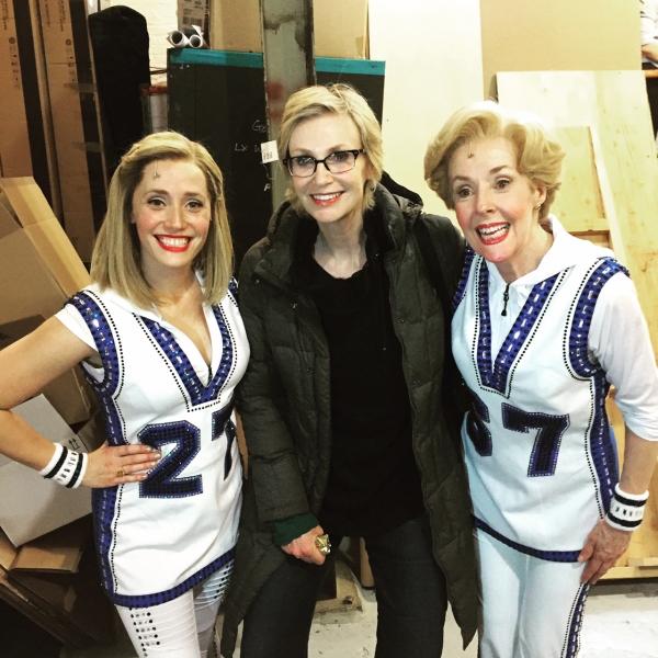 Haven Burton, Jane Lynch, Georgia Engel