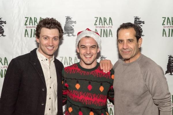 Bryce Pinkham, Wesley Taylor and Tony Shalhoub