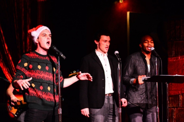 Wesley Taylor, Bryce Pinkham and Brandon Victor Dixon