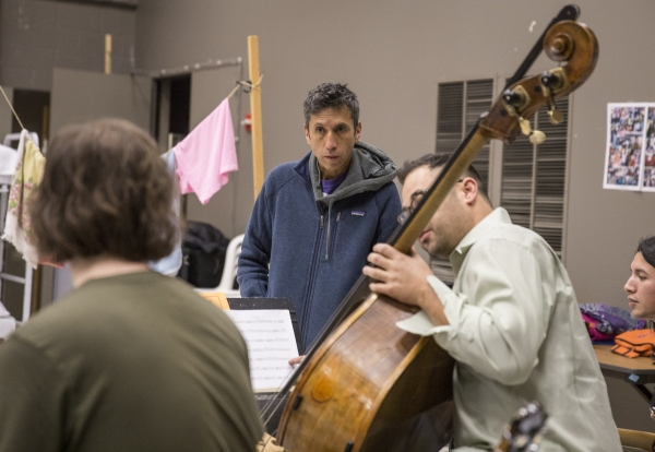Photo Flash: In Rehearsal for ANOTHER WORD FOR BEAUTY at The Goodman Theatre