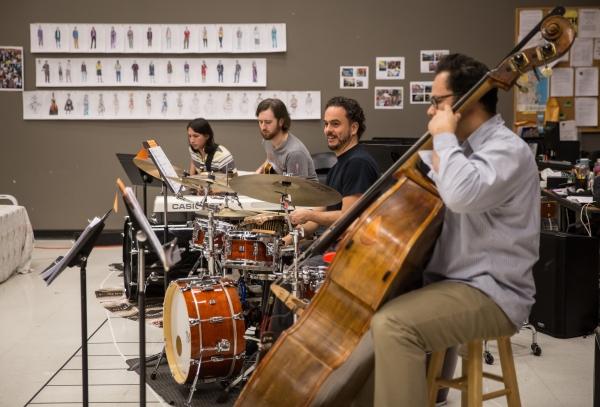 Diego Salcedo, Mike Przygoda, Javier Saume and Ruben Gonzalez