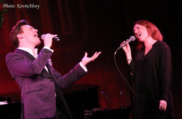 Erich Bergen and Jessica Keenan Wynn Photo