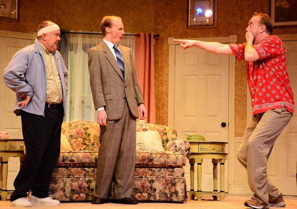 Photo Flash: First Look at RUN FOR YOUR WIFE, Opening Tonight at Beef & Boards