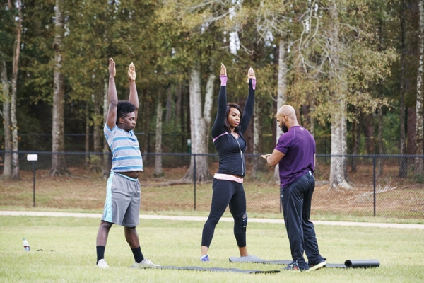 THE PRANCING ELITES PROJECT -- ''Week 4'' -- Pictured: (l-r) Kareem Davis, Tim Smith -- (Photo by: Maxwell Mason/Oxygen)