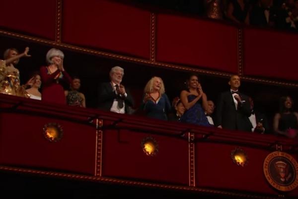 Cicely Tyson, Rita Moreno, George Lucas, Carole King, Michelle Obama, President Obama