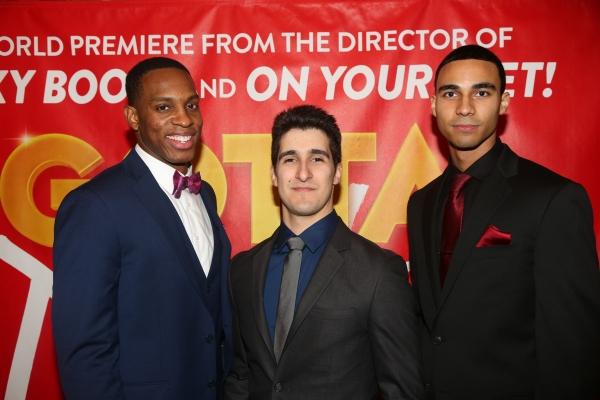 Colby Lewis, Alexander Aguilar, Austin Scott Photo