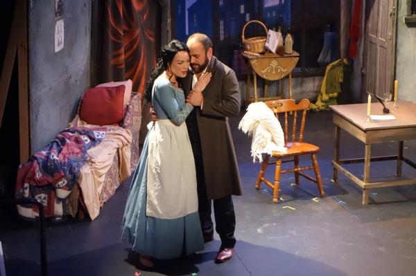 Jessica Sandidge and Paolo Buffagni