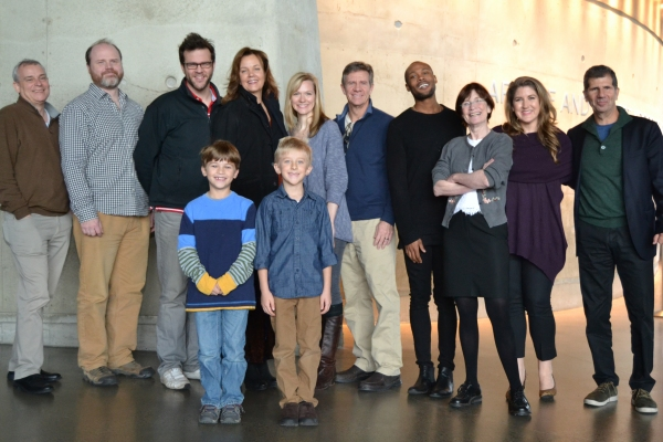 Photo Flash: In Rehearsal with Arena Stage's THE CITY OF CONVERSATION