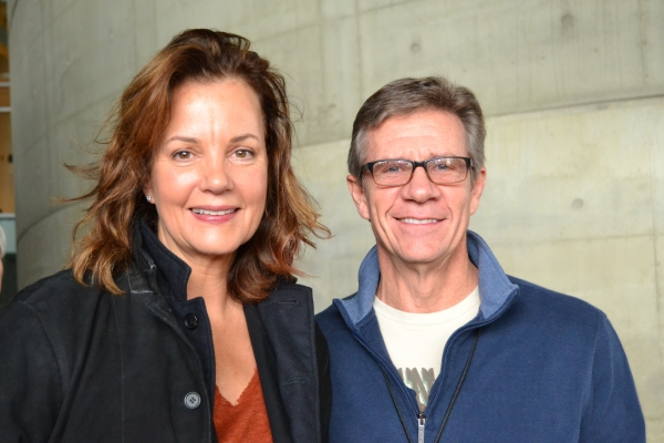 Margaret Colin (Hester Ferris) and Tom Wiggin (Chandler Harris)