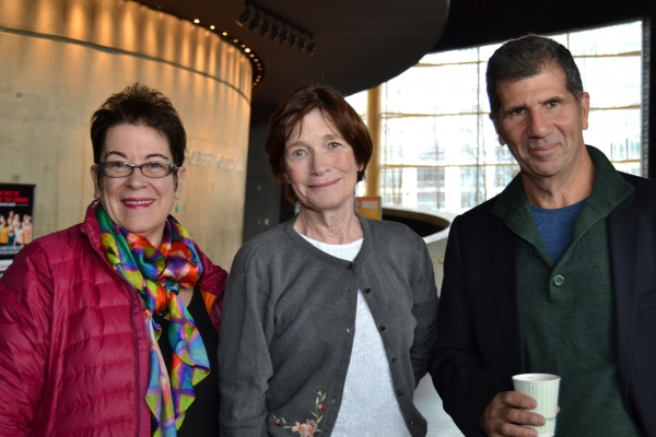 Artistic  Molly Smith, Ann McDonough (Jean Swift) and playwright Anthony Giardina
