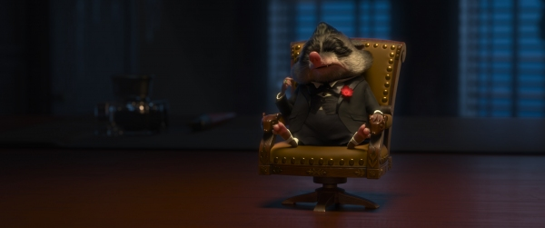 MR. BIG â�¿��¿� The most fearsome crime boss in Tundratown, Mr. Big commands respectâ�¿��¿�and when he feels disrespected, bad things happen. A small mammal with a big personality, Mr. Big is voiced by Maurice La Marche. Walt Disney Animation Studios''