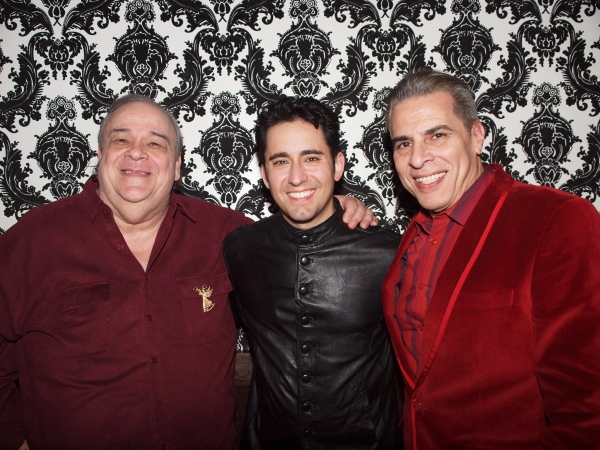 Don Grigware, John Lloyd Young, and Michael Sterling