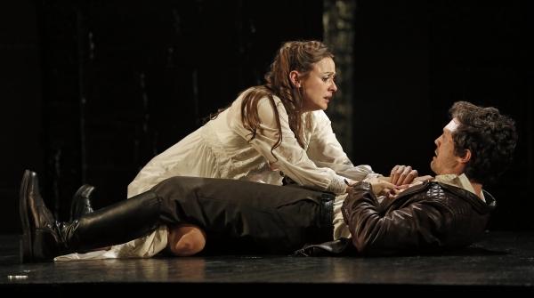 Sara Topham and Christian Coulson