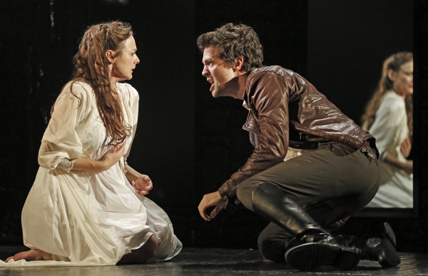 Sara Topham and Christian Coulson