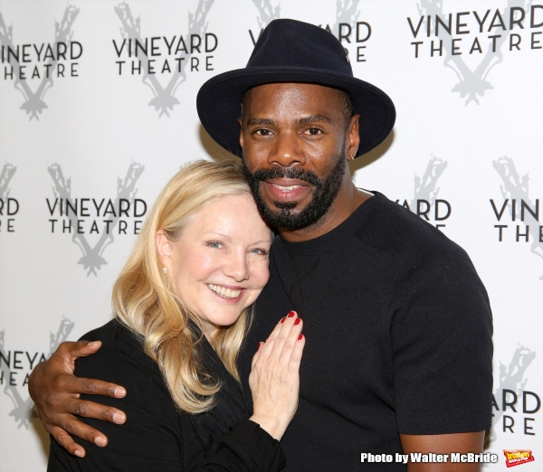 Susan Stroman and Colman Domingo