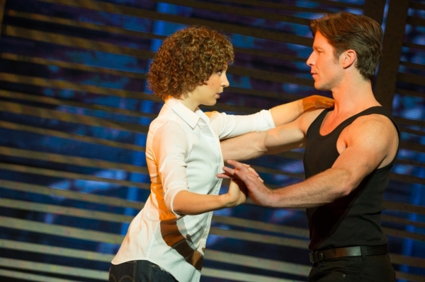 Gillian Abbott (Baby) and Christopher Tierney (Johnny)