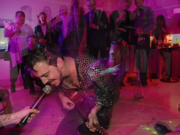 Photo Flash: Jacob Langfelder Rings in 2016 with Tori Scott, Broadway Stars and More