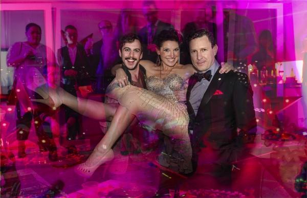 Brendan MacLean, Karen Sterling and Jacob Langfelder Photo