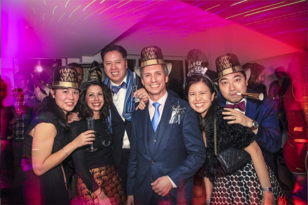 Photos: Jacob Langfelder Rings in 2016 with Tori Scott, Broadway Stars and More