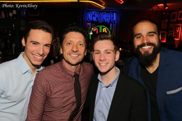 Kevin Dort, Neil Bartram and Joseph Phallen Photo