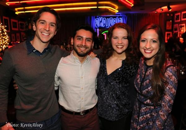 Mack Shirilla, Robert Ariza, Victoria Cook and Katie Perry