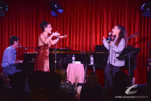 Photo Flash: Jason Robert Brown, Shoshana Bean and Ariana Grande Take Hollywood!