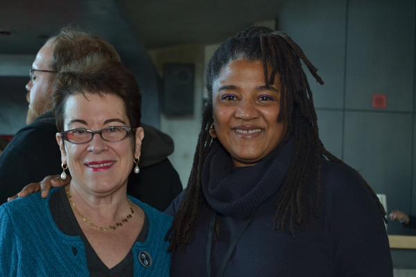 Artistic Director Molly Smith and playwright Lynn Nottage