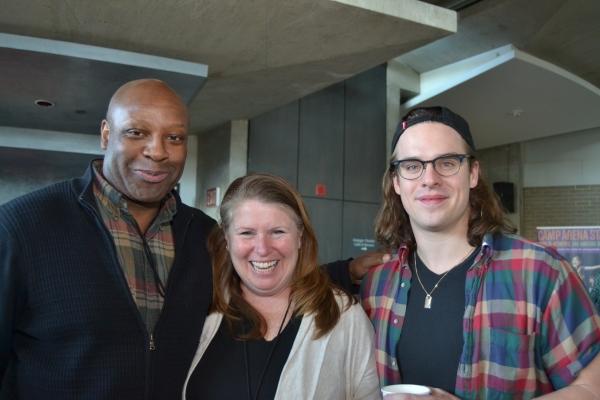 Tyrone Wilson (Evan), Tara Mallen (Jessie) and Stephen Michael Spencer (Jason)