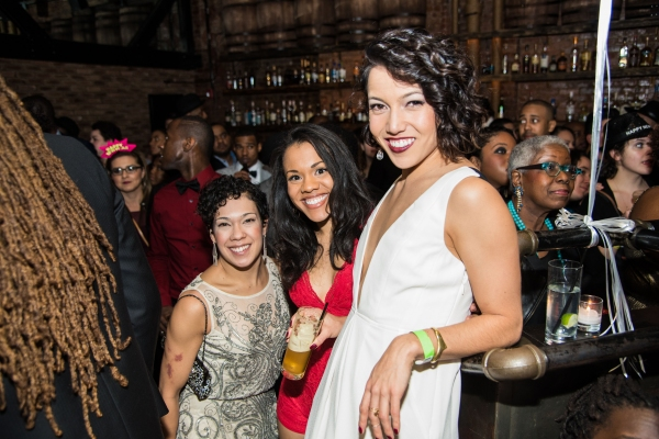 Photo Flash: Stars of HAMILTON and More Perform at 'Off the Kuff' New Year's Eve Blowout