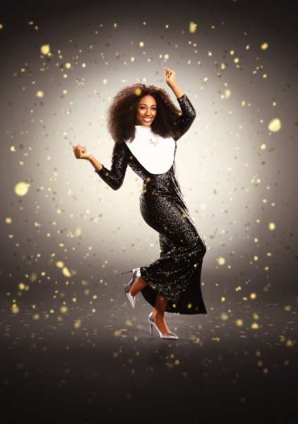 Photo Flash: Sneak Peek at Alexandra Burke, Starring in SISTER ACT Tour, Opening at Curve, July 30