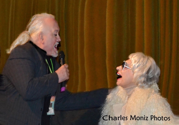 Director Rick McKay with Carol Channing