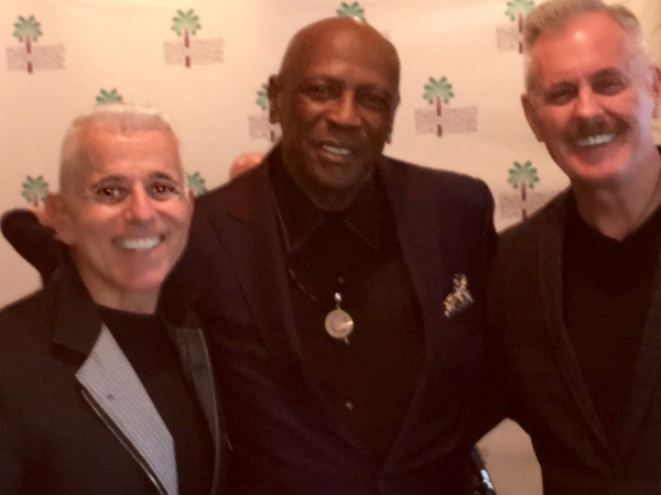 producers Michael Anastasio and Richard Eric Weigle with Oscar-winning actor Louis Gossett, Jr.