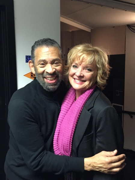 Maurice Hines and Christine Ebersole