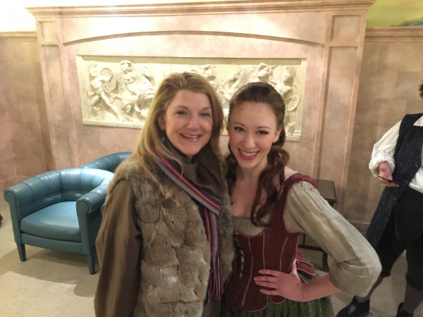 Photo Flash: Original Broadway Godmother Victoria Clark Visits CINDERELLA Tour