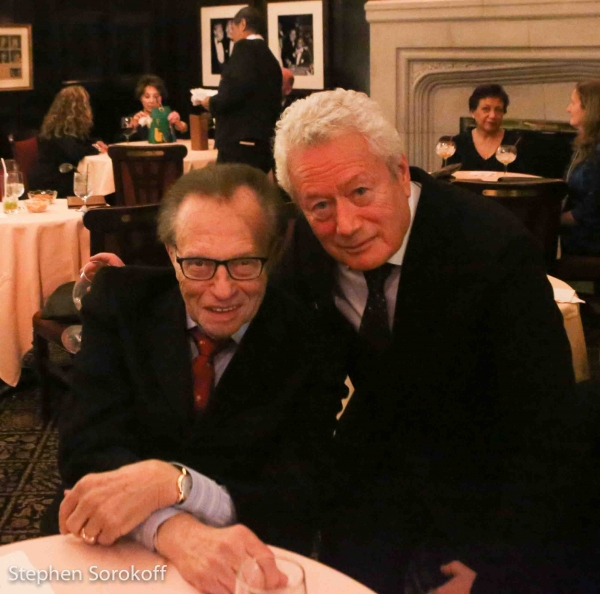 Larry King & Stephen Sorokoff
