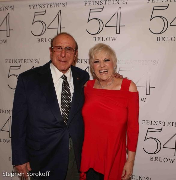 Clive Davis & Lorna Luft
