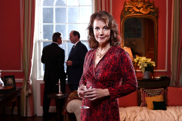 Margaret Colin in THE CITY OF CONVERSATION at Arena Stage