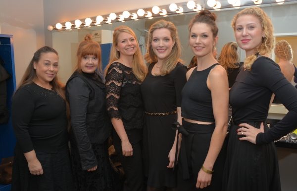 Eve Bianco, Annie Golden, Liv Rooth, Blair Busbee, Janie Brookshire and Margaret Loes Photo