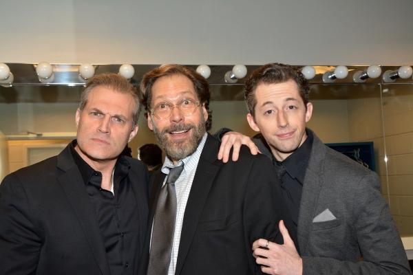 Marc Kudisch, David Staller and Josh Grisetti Photo