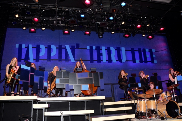 The Diva Jazz Orchestra that includes-Sherrie Maricle (Musical Director), Liesl Whitaker, Jami Dauber, Sara Jacobin, Alexa Taratino, Roxy Cross, Lauren Sevian, Jackie Warren and Amy Shook